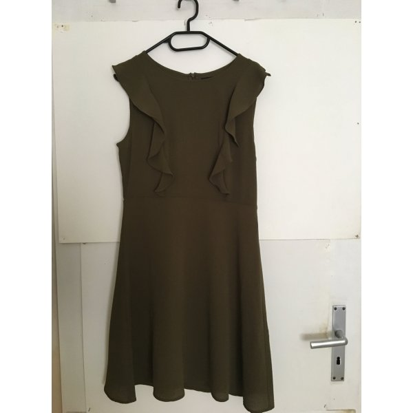 NEU Vero Moda kleid M olivgrün