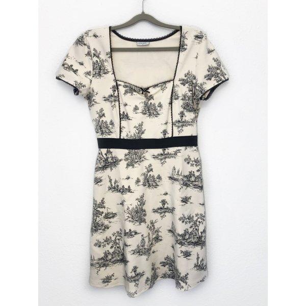 Neu Vive Maria Kleid Sommerkleid Midikleid Skaterkleid Strickkleid beige creme Größe L Neu 129,99€