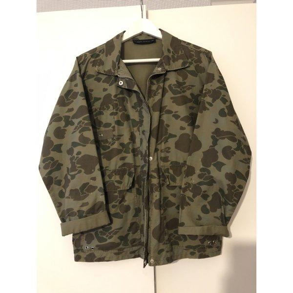 Neue Camouflage Jacke von Zara!