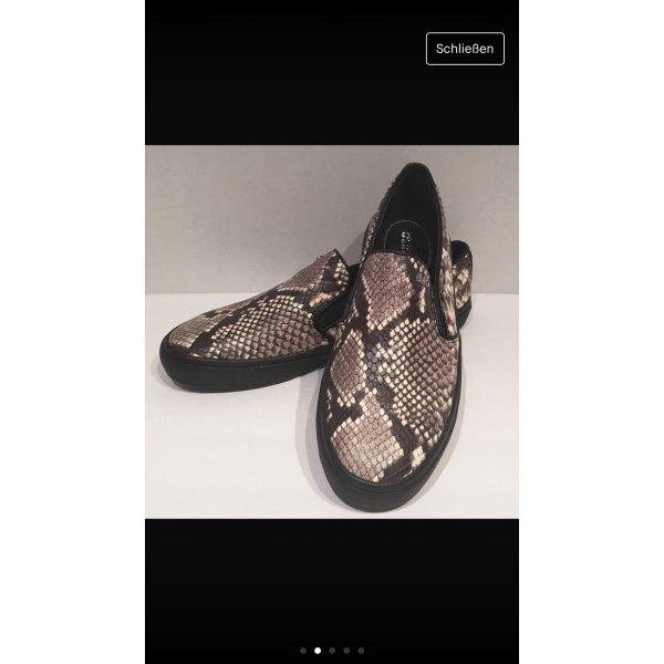 Neue Michael Kors Leder Schuhe
