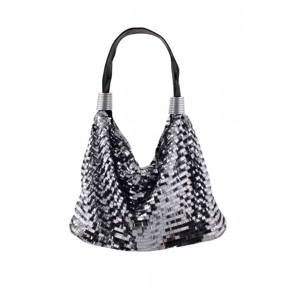 Carry Bag silver-colored-black
