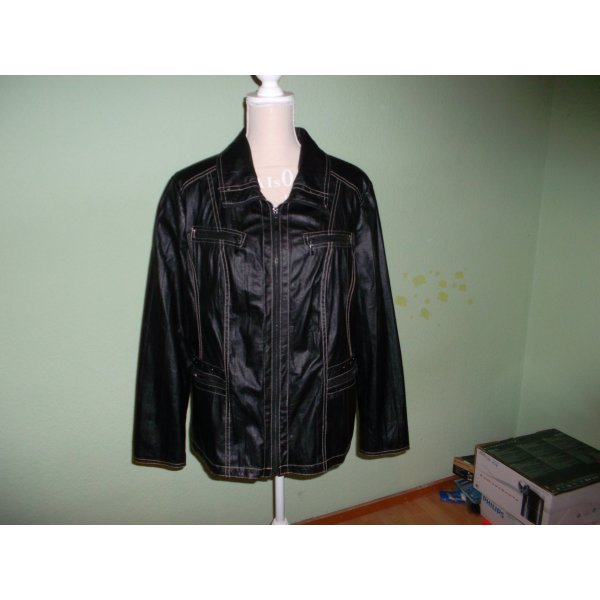 neue schicke schwarze jacke,grösse 46,canda