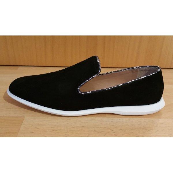 Calvin Klein Sneaker nero-bianco Scamosciato