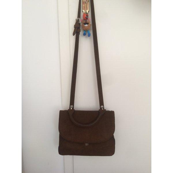 Neue Wildleder Handtasche