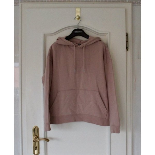H&M Hooded Sweater dusky pink-pink