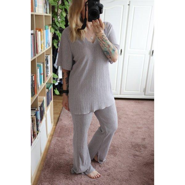 Neuer Zweiteiler Set von Zara Shirt und Hose Größe S M 36 38