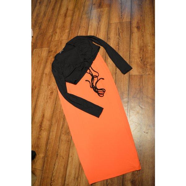 Neues Langarm Cropped Shirt mit Bindung 38 Shein