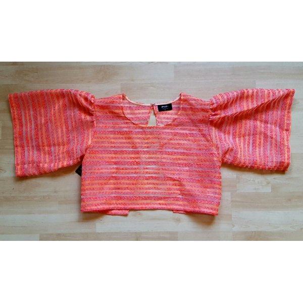 neues semi-transparentes Shirt von Nasty Gal Größe S