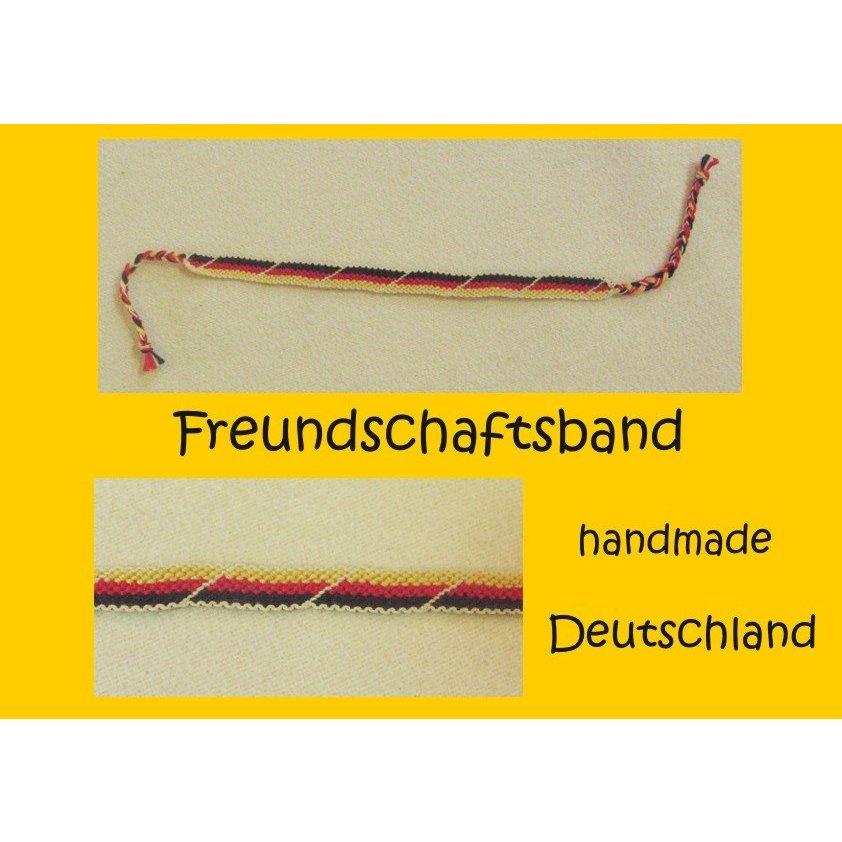 Friendship Bracelet multicolored cotton