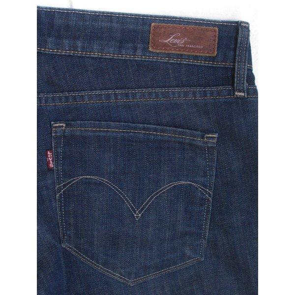 Levi's Boot Cut Jeans blue-dark blue mixture fibre