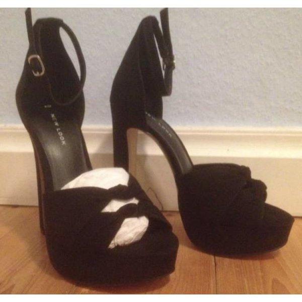 New Look High Heel Sandal black