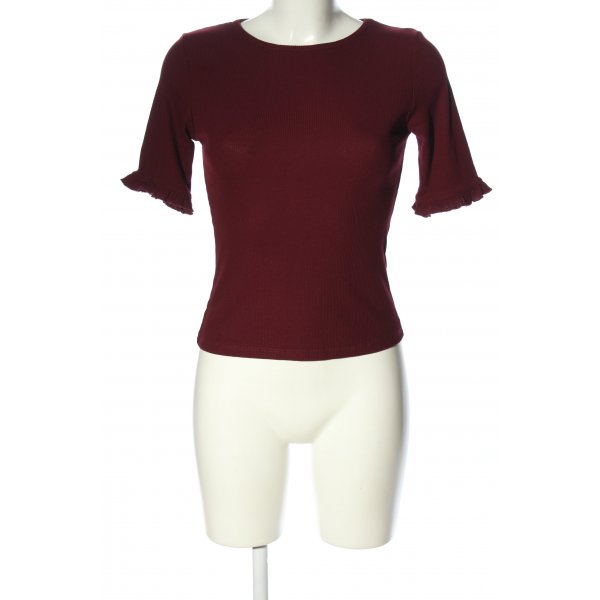 New Look Rippshirt rot Casual-Look