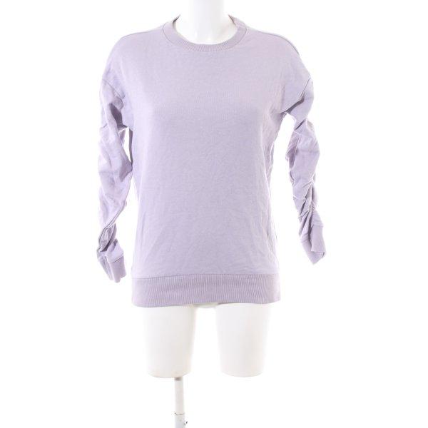 New Look Sweatshirt lila Casual-Look