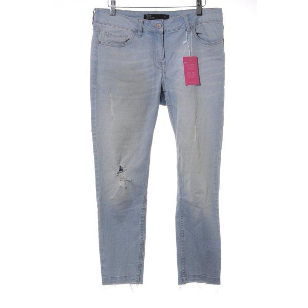"Next Jeans a 7/8 ""Crop"" azzurro"