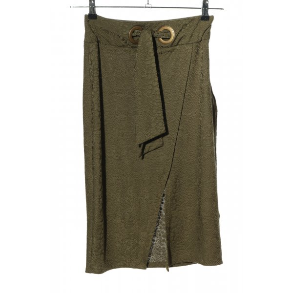 Next High Waist Rock khaki Casual-Look