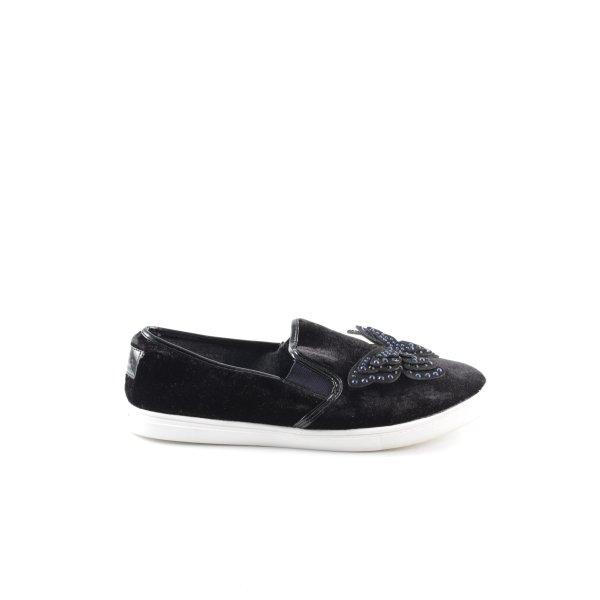 Next Slip-on Sneakers black casual look