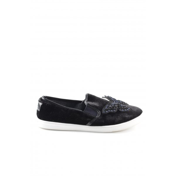 Next Slip-on Sneakers black casual look