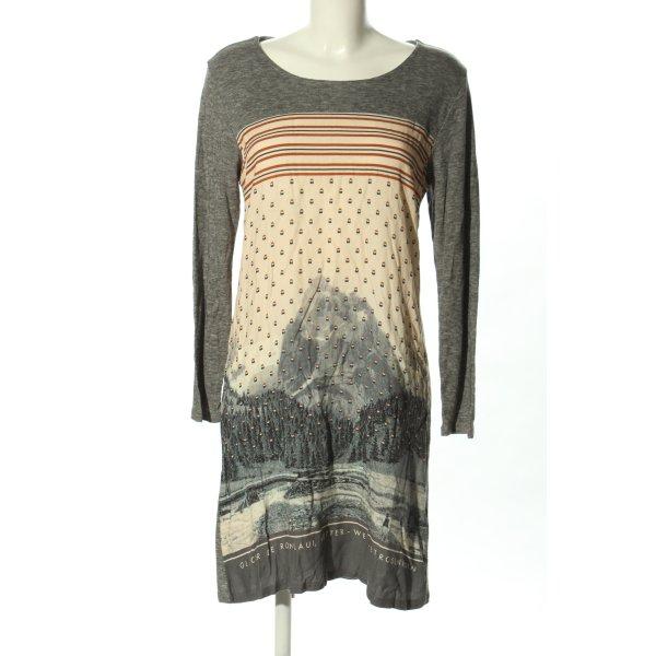 Nice Things Jerseykleid meliert Casual-Look