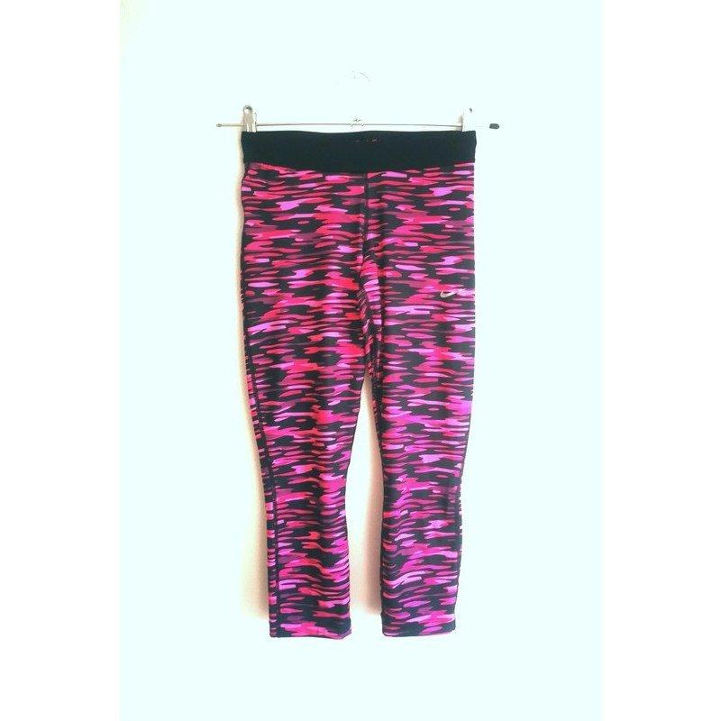 Nike 3/4 Leggings Sporthose Milatary pink look