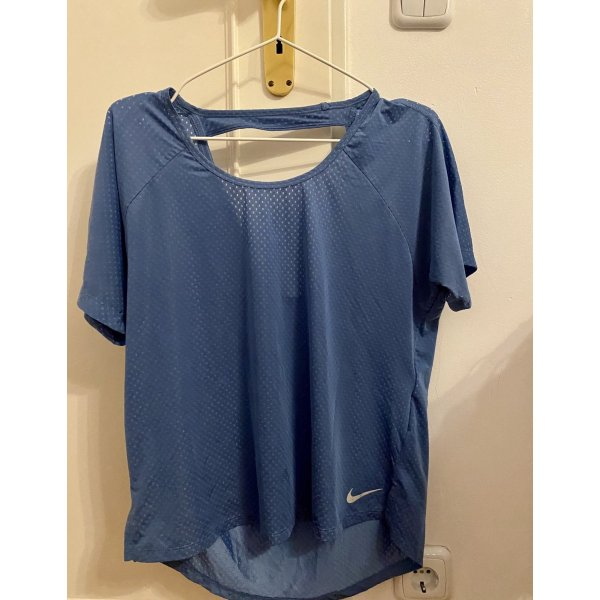 Nike Active Fit blaues T-Shirt