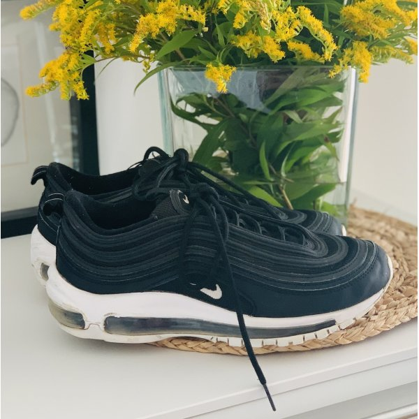 ❤️ Nike air max 97 Sneaker black white 39 UK 6 NP 179,-€ mit OVP