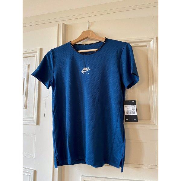Nike Air Performance: T Shirt print in Blau