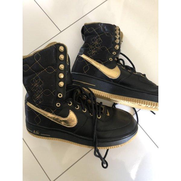 Nike air Schuhe neu schwarz Leder