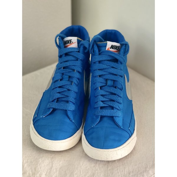 Nike Blazer blau Silber 39