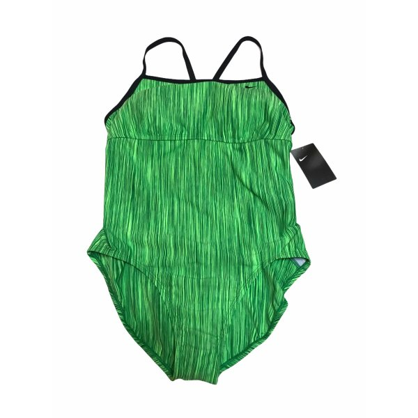 Nike Damen Sport Badeanzug Grün XL