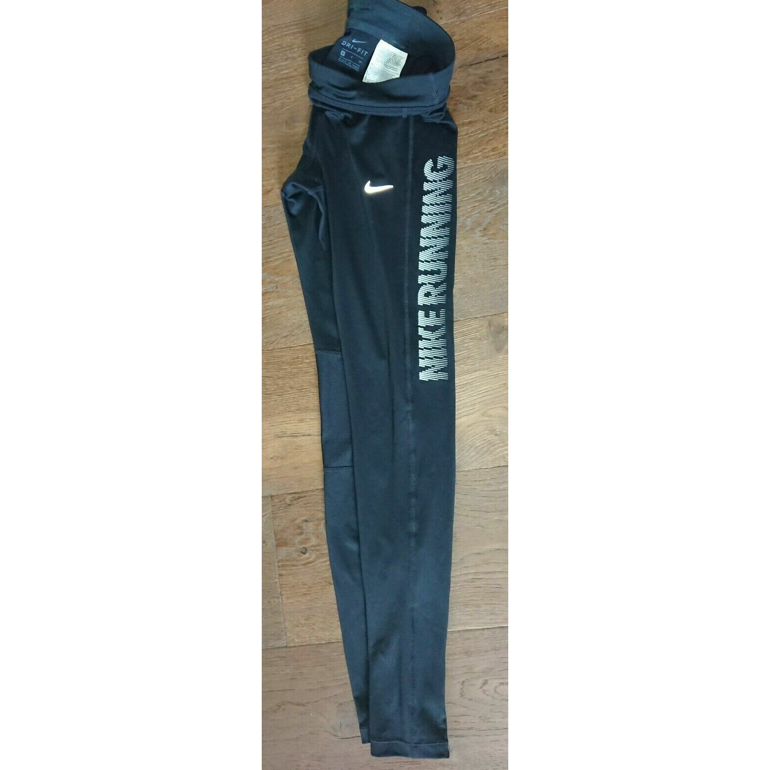 Nike Dri-Fit Leggings Gr. S Hose Running Stretch schwarz