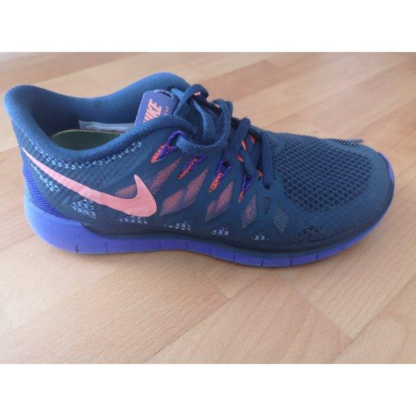 Nike Free 5.0 Turnschuhe 37 Blau Lila Wie Neu Sehr Guter Zustand