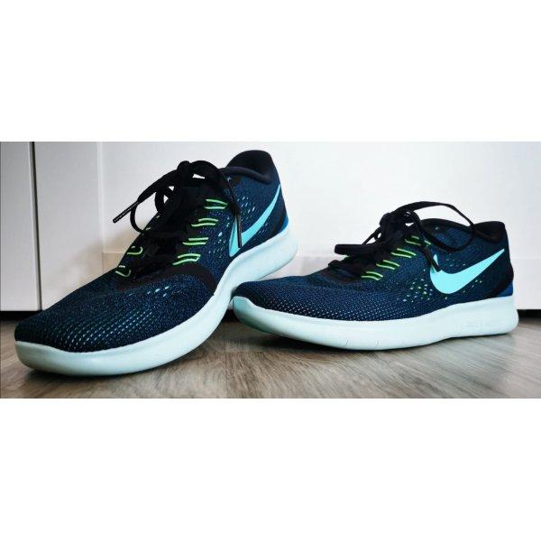 Nike Free RN Sportschuhe blau/petrol Gr.39