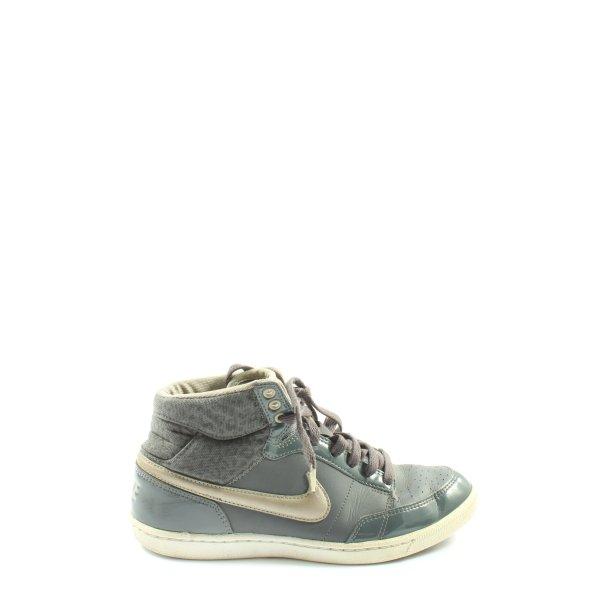Nike High Top Sneaker hellgrau-wollweiß Casual-Look