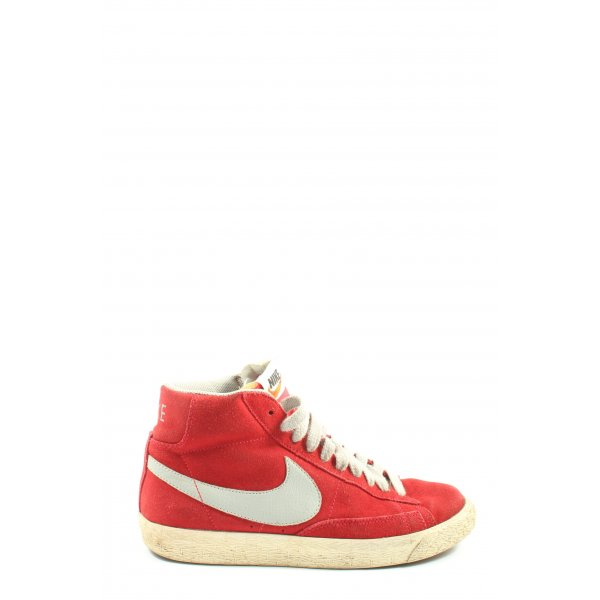 Nike High Top Sneaker rot Casual-Look