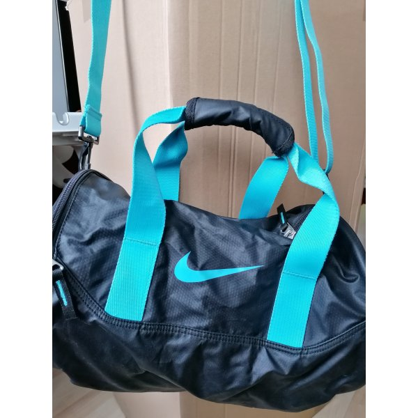 Nike, Nike Sporttasche, Sporttasche schwarz blau