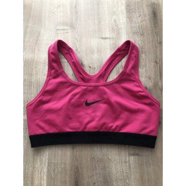 Nike Performance Classic Sport BH pink/black