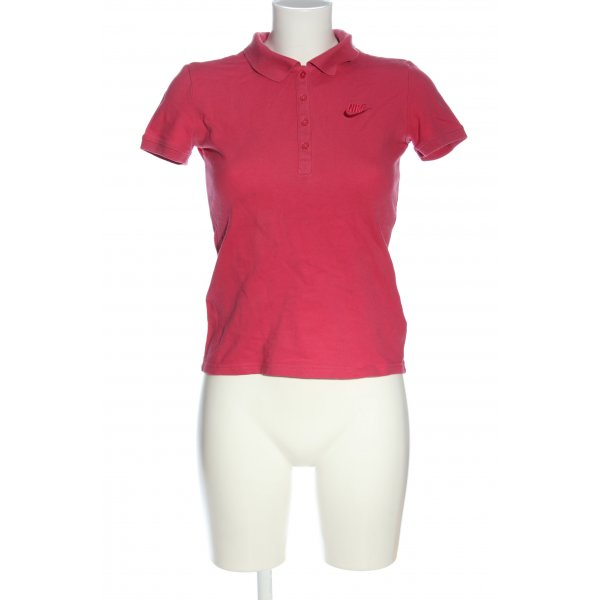 Nike Polo-Shirt rot Casual-Look