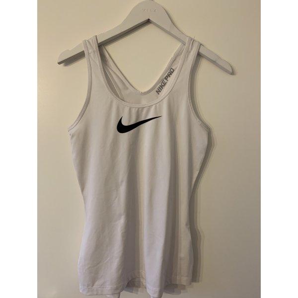 Nike Pro Shirt, Dry Fit, Größe XS, weiß