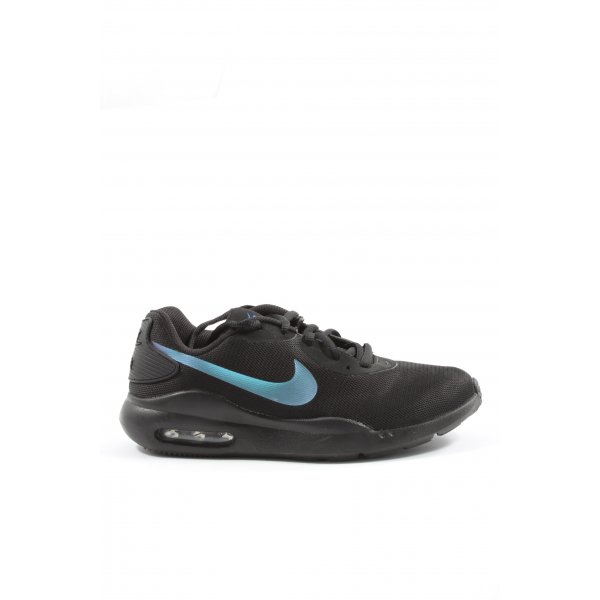 Nike Schnürsneaker schwarz-blau Motivdruck Casual-Look