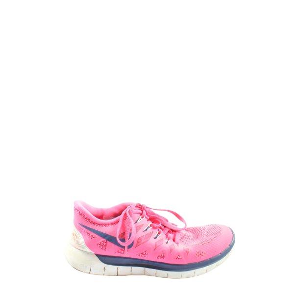 Nike Schnürsneaker pink-blau Casual-Look