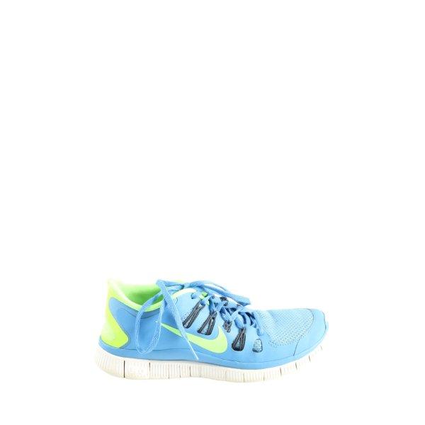 Nike Schnürsneaker blau-grün Casual-Look