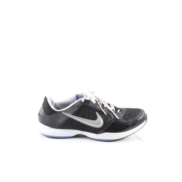 Nike Schnürsneaker schwarz-blau sportlicher Stil