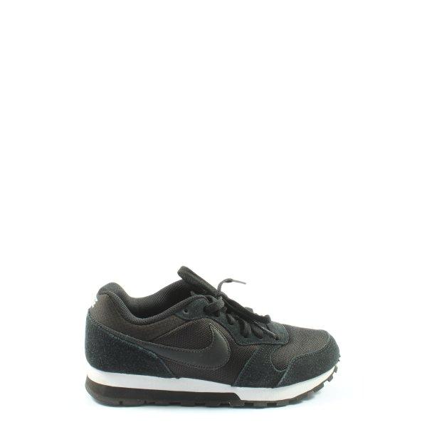 Nike Schnürsneaker schwarz Elegant