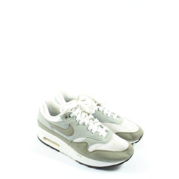 Nike Schnürsneaker weiß-khaki Casual-Look