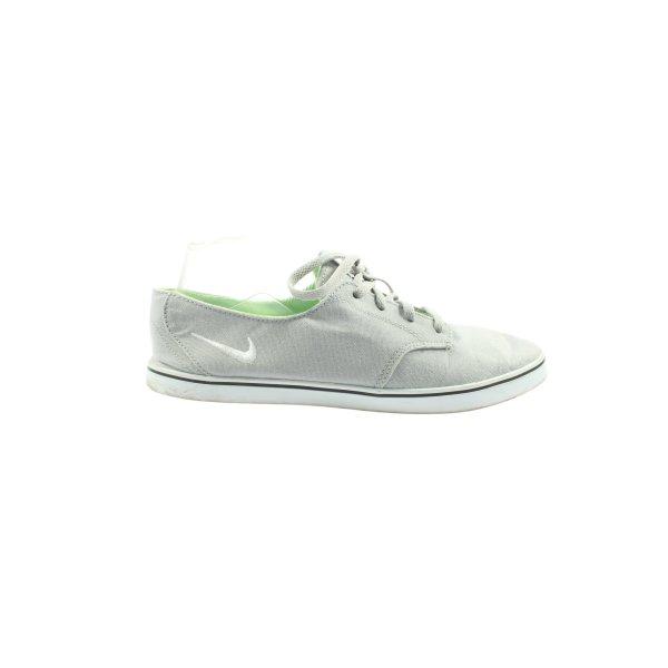 Nike Schnürsneaker hellgrau Motivdruck Casual-Look