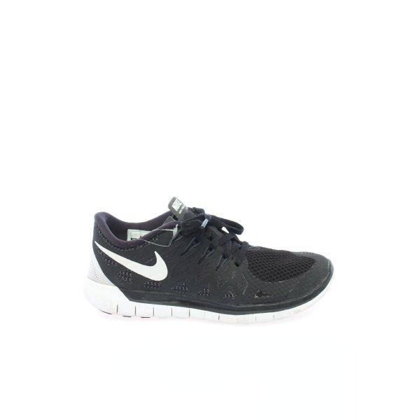 Nike Schnürsneaker schwarz sportlicher Stil