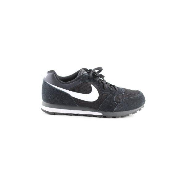 Nike Schnürsneaker schwarz-weiß Casual-Look