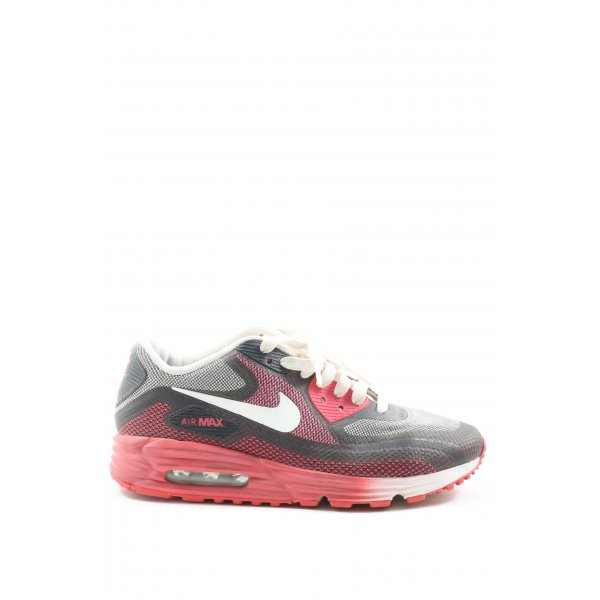 Nike Schnürsneaker schwarz-rot Casual-Look