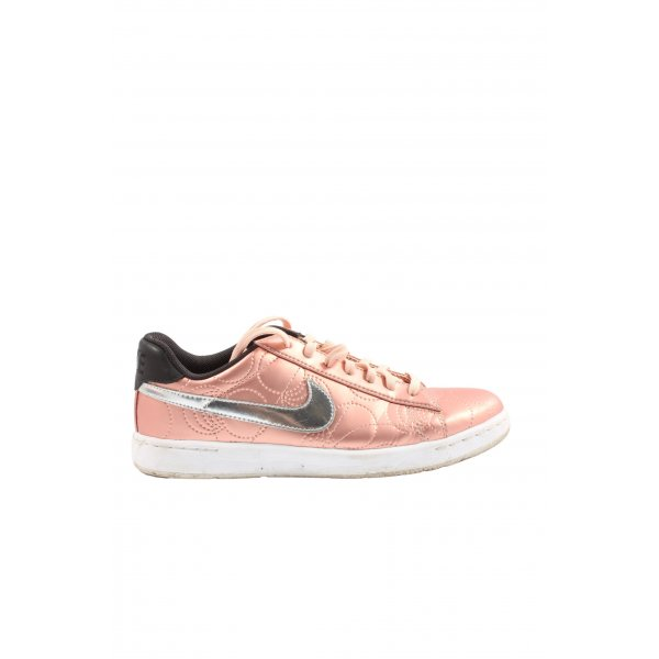 Nike Schnürsneaker pink-silberfarben Casual-Look