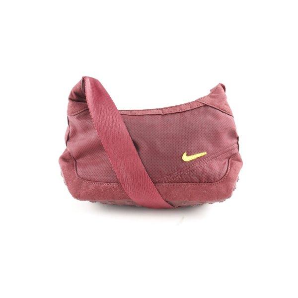 Nike Schultertasche purpur Casual-Look